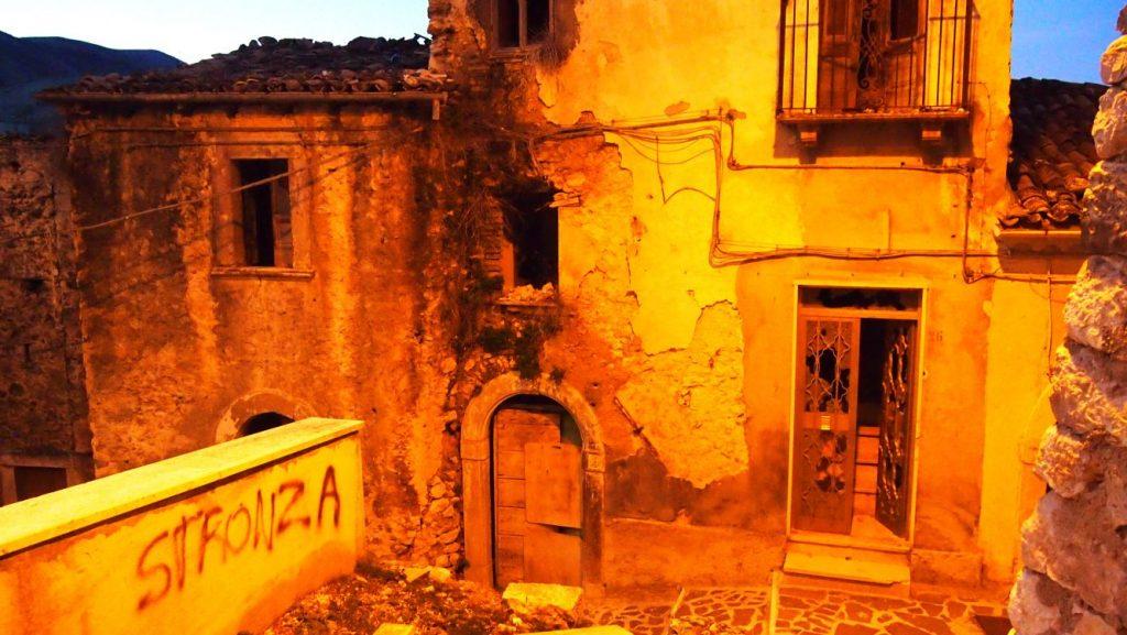 Prezza, Abruzzen, verlassen